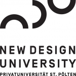 Logo New Design University - Privatuniversität der Kreativwirtschaft